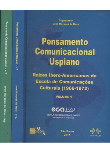 Pensamento Comunicacional Uspiano - 2 Volumes