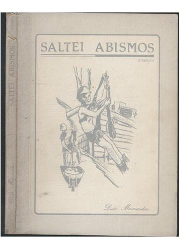 Saltei Abismos - Com Dedicatória da Autora