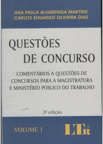 Questões de Concurso - Volume 1