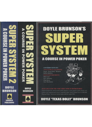 Super System - A Course in Power Poker - 2 Volumes
