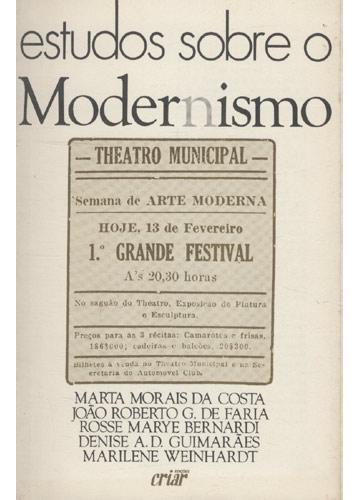 Estudos Sobre Modernismo