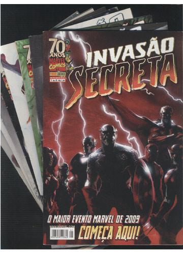 Invasão Secreta - Minissérie Completa em 8 Edições