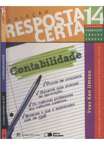Contabilidade - Coleção Resposta Certa - Volume 14