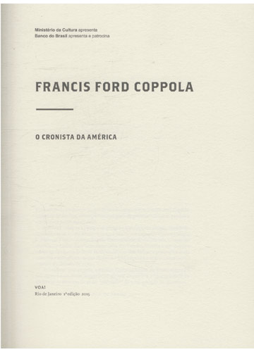 Francis Ford Copola