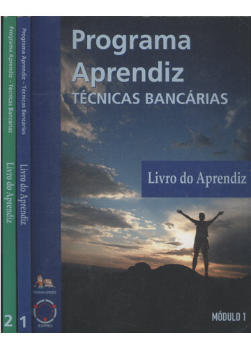 Programa Aprendiz - Técnicas Bancárias - 2 Volumes