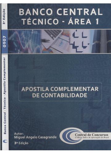 Banco Central - Técnico - Apostila Complementar
