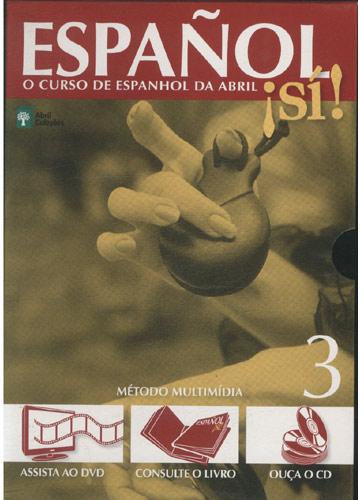 Español Sí! - Livro 3 - Com Cd e DVD