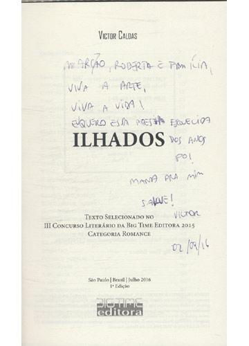 Ilhados - Com Dedicatória do Autor