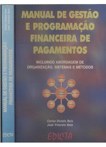 Manual de Gestão e Programação Financeira de Pagamentos