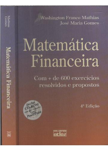 Matemática Financeira - Sem CD
