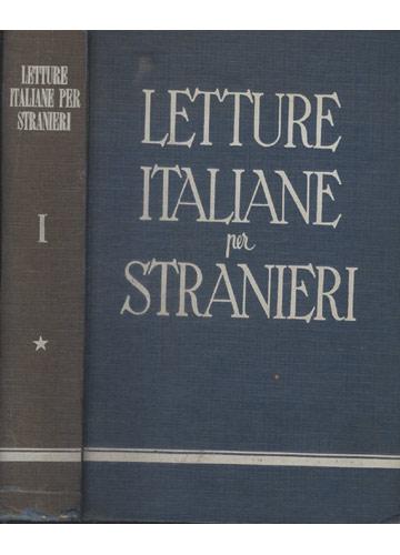 Letture Italiane per Stranieri - Volume I