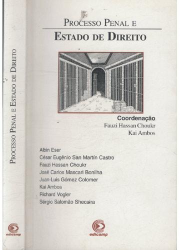 Processo Penal e Estado de Direito