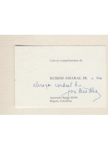 Poesia Doutrinal Coplas - Com Cartão Assinado pelo Autor