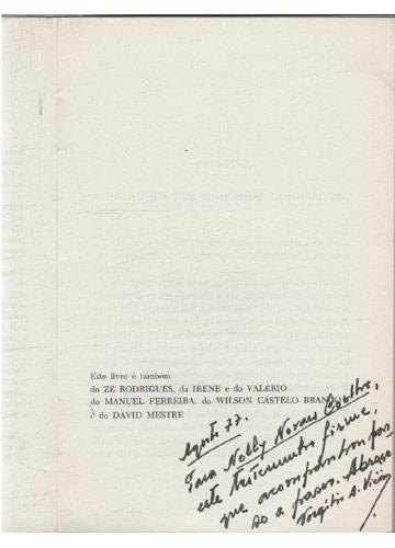 Guerrilheiro é Terra Móvel - Com Dedicatória do Autor