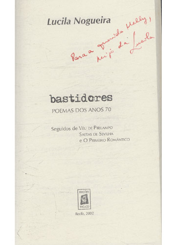 Refletores - 2 Volumes - Com Dedicatória da Autora