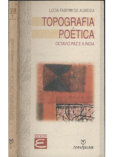 Topografia Poética - Com Dedicatória da Autora