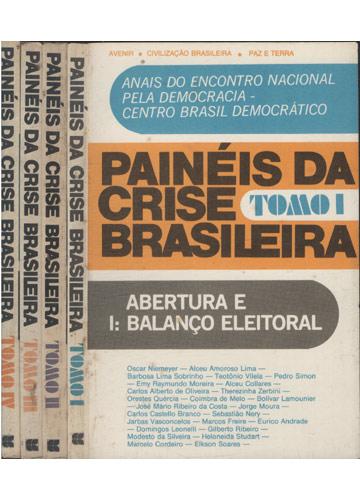 Painéis da Crise Brasileira - 4 Volumes