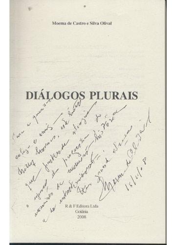 Diálogos Plurais - Com Dedicatória da Autora