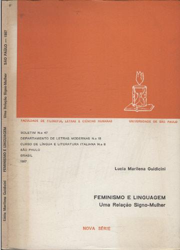 Feminismo e Linguagem - Uma Relação Signo-Mulher - São Paulo 1987