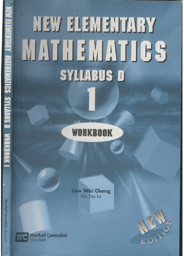 New Elementary Mathematics - Syllabus D - Workbook 1