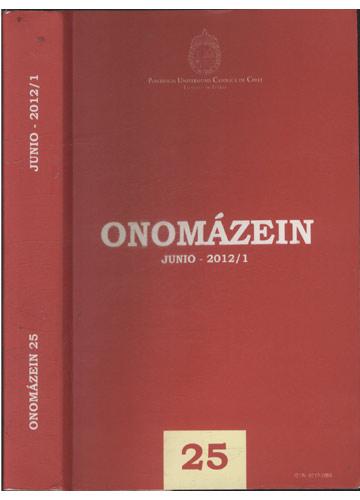 Onomázein - 25 - Junio - 2012/1