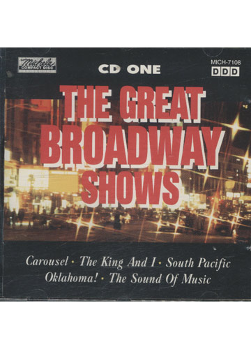 The Great Broadway Shows *Importado*