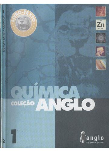Livro Texto - Química - Livro 1 - Coleção Anglo + Caderno de Exercícios