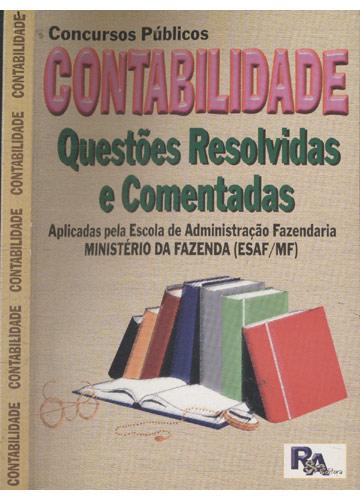Contabilidade - Questões resolvidas e comentadas