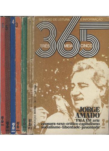 365 - Três Meia Cinco - 6 Volumes