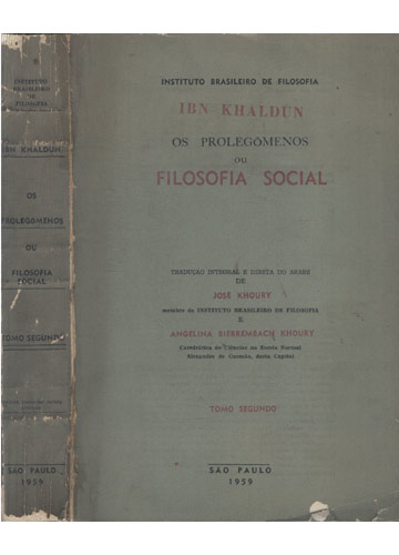 Os Prolegômenos ou Filosofia Social - Tomo Segundo