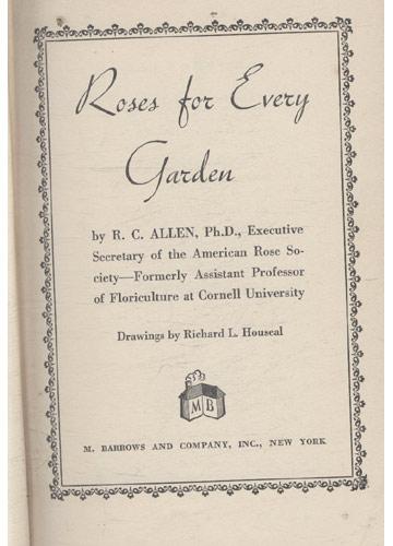 Roses for Every Garden