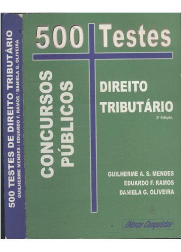 500 Testes de Direito Tributário