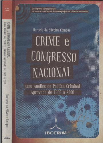 Crime e Congresso Nacional