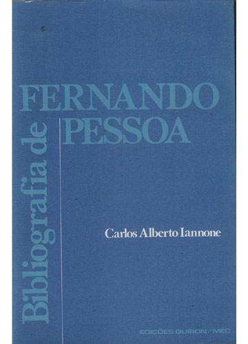 Bibliografia de Fernando Pessoa