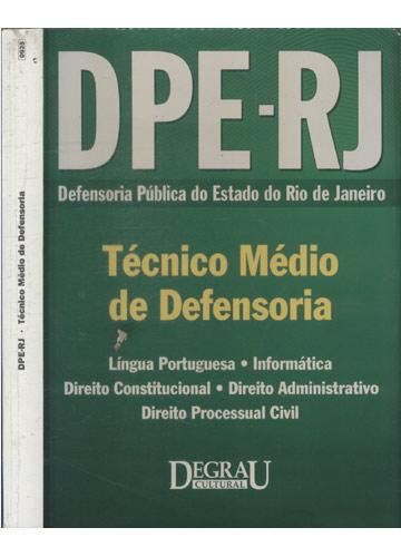 DPE-RJ - Técnico Médio de Defensoria