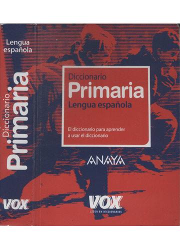 Diccionario Primaria - Lengua Española - Com CD