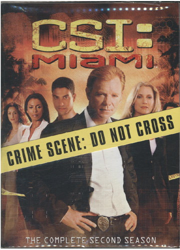 CSI - Miami - The Complete Second Season *importado* *digipack* *7 discos (DVD)*