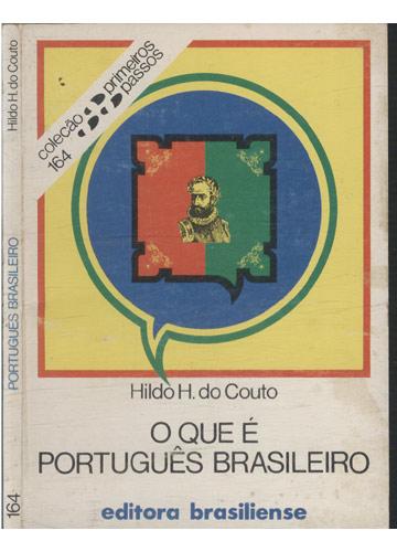 Português Brasileiro - O Que é Português Brasileiro