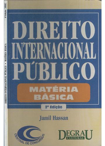Direito Internacional Público - Matéria Básica