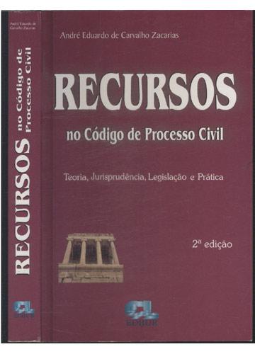 Recursos no Código de Processo Civil