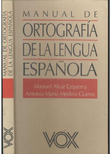 Manual de Ortografia de la Lengua Española