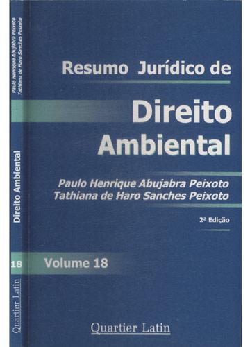 Resumo Jurídico de Direito Ambiental