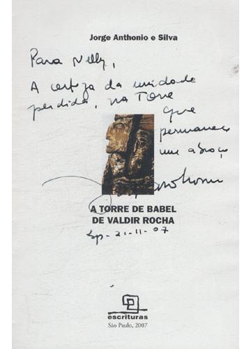 A Torre de Babel de Valdir Rocha - com Dedicatória