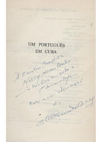 Um Português em Cuba - Com dedicatória do Autor