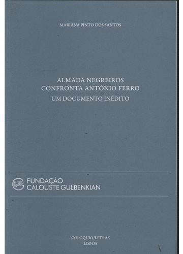Almada Negreiros Confronta António Ferro - Um Documento Inédito