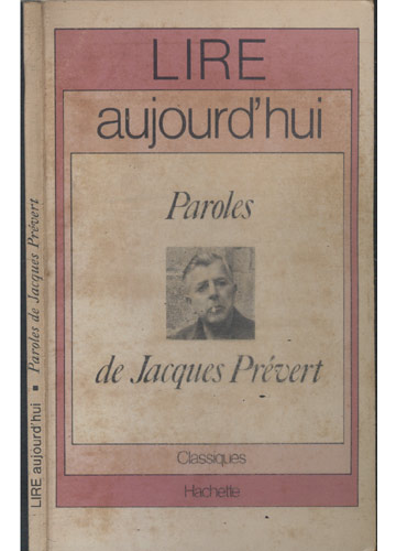 Paroles de Jacques Prévert