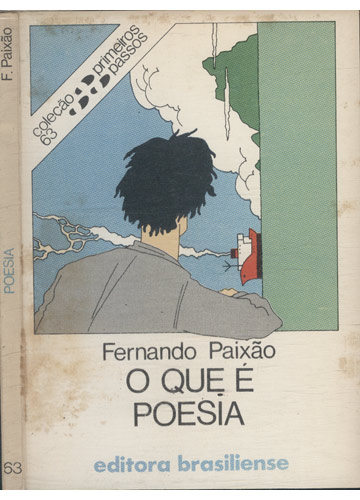 Poesia - O que é Poesia - Com Dedicatória do Autor