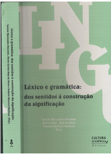 Léxico e Gramática dos Sentidos à Construção da Signficação