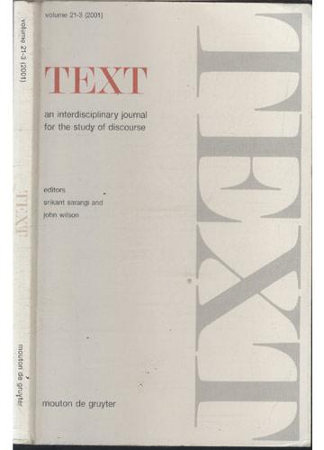 Text - Volume 21-3 - 2001