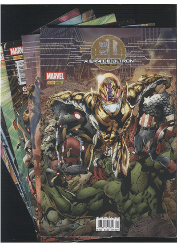 A Era de Ultron - 6 Volumes - Do Nº.01 ao Nº.06
